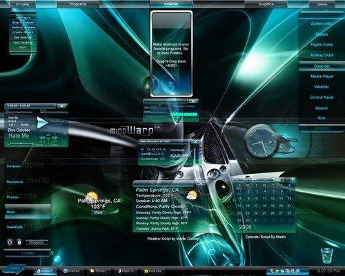 Для xp desktopx 3 1 темы рабочего стола для xp